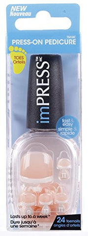 Broadway Impress Toes Orteils  Press On Pedicure