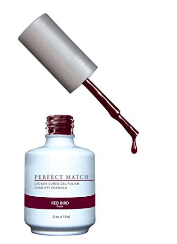 Lechat Perfect Match Nail Polish, Red Bird, 0.500 Ounce