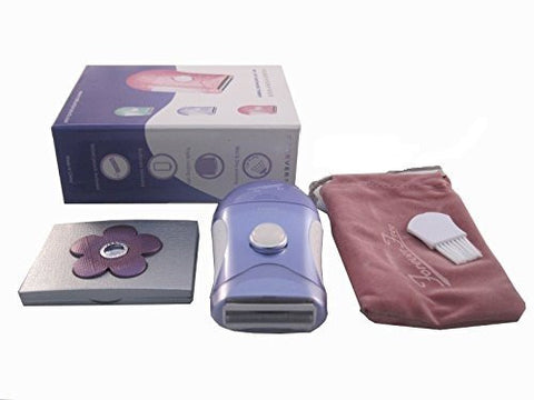 Upgraded Forever Free Wet/Dry Everywhere Trimmer W/Mirror(Purple) Replaceable Trimmer Head Sold Sepa
