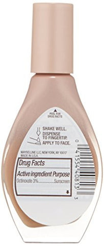 Maybelline New York Dream Wonder Fluid Touch Foundation, Pure Beige, 0.67 Fluid Ounce