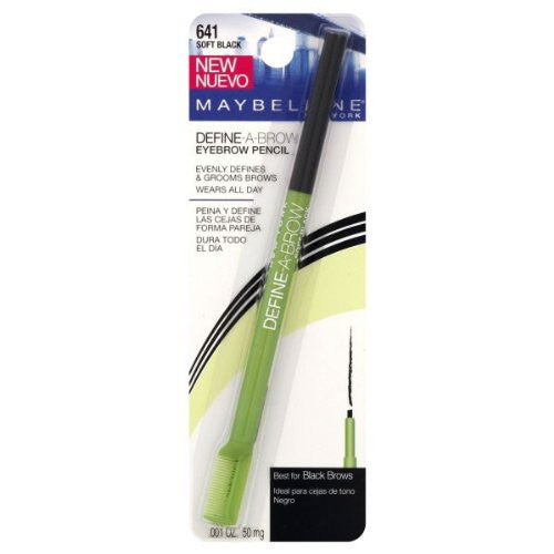 Maybelline Define A Brow Eyebrow Pencil   Soft Black