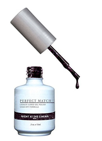 Lechat Perfect Match Nail Polish, Night At The Cinema, 0.500 Ounce