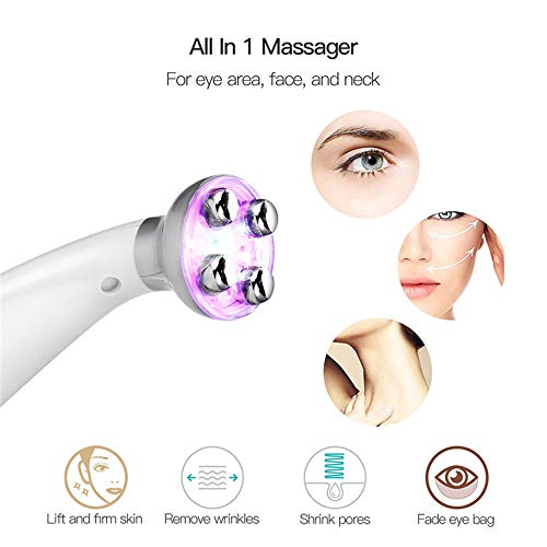 Facial Beauty Therapy electroporation RF Radio Frequency Photo Spotting Remover whitening face Firming Introducer