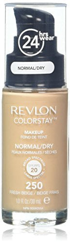 Revlon Color Stay Liquid Foundation For Normal/Dry Skin,Fresh Beige, 1 Fl Oz