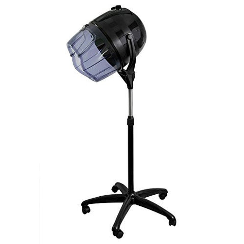 Salon Sundry Professional Bonnet Style Hood 1,000 Watt Salon Hair Dryer   Black
