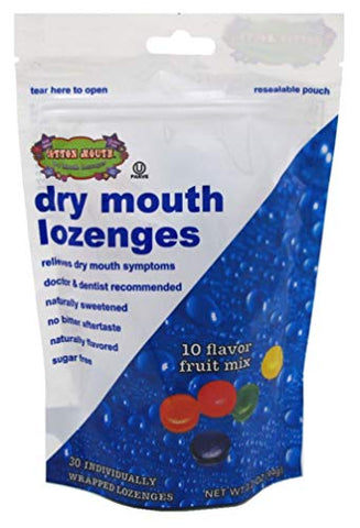 Cotton Mouth Lozenges Fruit Mix Bag 3.3 Ounce (Pack of 2)