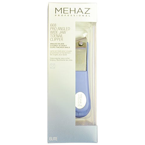 Mehaz 668 Pro Angled Wide Jaw Toenail Clipper
