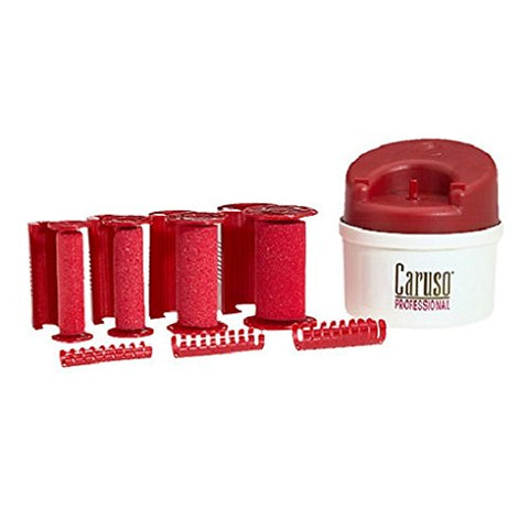Caruso Pro Traveler Molecular Steam Hairsetter, 14 Rollers, 5 Sizes