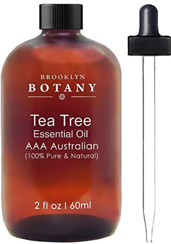 Brooklyn Botany Tea Tree Oil   Aaa+ (Australian)   Therapeutic Grade   100% Pure And Natural   2 Oz
