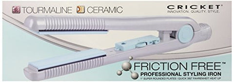 Cricket Friction Free Tourmaline Flat Iron, 1 Inch