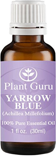 Yarrow (Blue) Essential Oil 1 Oz / 30 Ml 100% Pure Undiluted Therapeutic Grade.