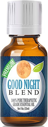Good Night Essential Oil Blend 100% Pure, Best Therapeutic Grade   30ml   Comparable To Doterras Ser