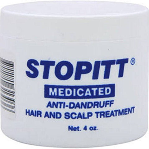 Set Of 2 Stopitt 4 Oz. Medicated Anti   Dandruff Hair And Scalp Treatment Bundled By Maven Gifts
