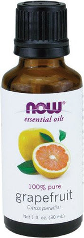 Now Essential Oils, Grapefruit Oil, Sweet Citrus Aromatherapy Scent, Cold Pressed, 100% Pure, Vegan,