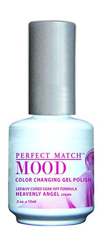 Lechat Perfect Match Mood Gel Polish, Heavenly Angel, 0.500 Ounce