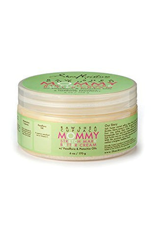 Shea Moisture Raw Shea Cupuacu Mommy Stretch Mark Butter Cream | 6 Oz.