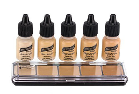 Graftobian Hd Sampler Pack   Creme And Airbrush Foundation (Cool #1)