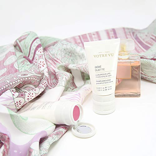Votre Vu - Bebe Duette Luxe Sweet Almond Hand Cream with Clear Lip Balm