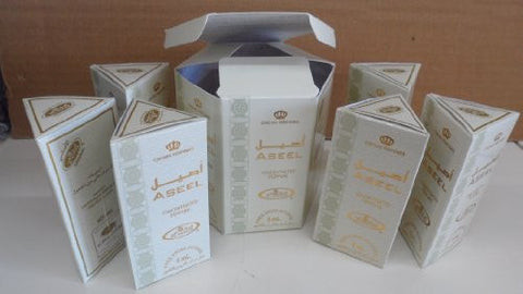 Aseel   6ml (.2oz) Roll On Perfume Oil By Al Rehab (Crown Perfumes) (Box Of 6)
