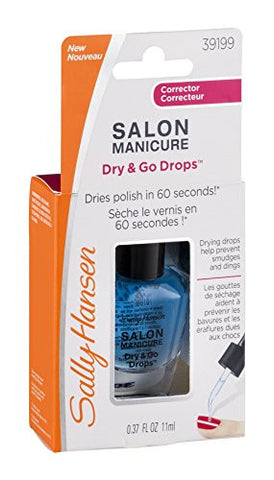 Sally Hansen Salon Manicure Dry And Go Drops   0.37 Oz, Pack Of 2