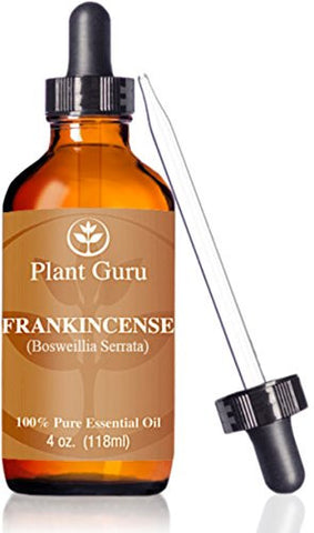 Frankincense Essential Oil 4 Oz Extract Of Boswellia Serrata 100% Pure Undiluted Therapeutic Grade.