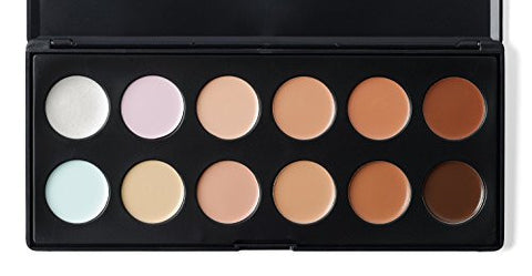 Lefv 12 Color Professional Complete Coverage Concealer Face Cream Camouflage Foundation Palette Prim