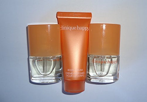 3 Clinique Happy Spray Sample Mini 4 Ml/.14 Oz Each Unboxed Lot