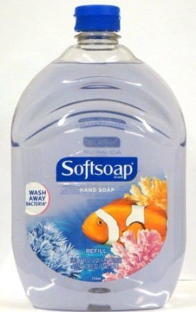 Softsoap Liquid Hand Soap Aquarium Series 64 Fluid Ounce Refill Bottle
