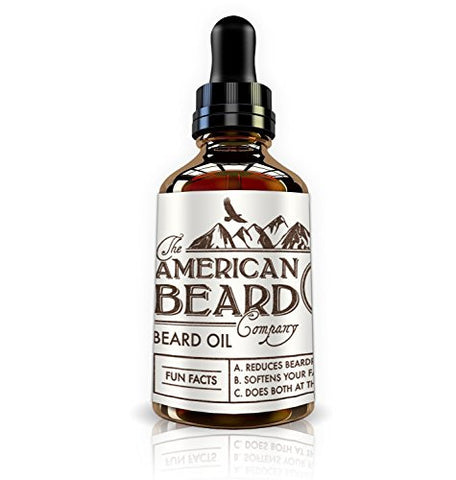 The American Beard Company Beard Oil And Leave In Conditioner 1 Fl Oz/30 Ml