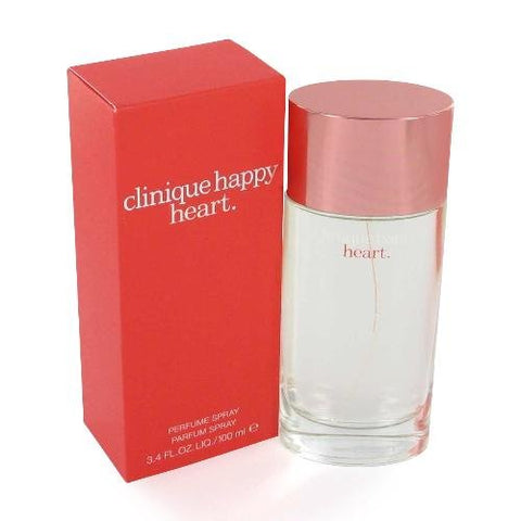Brand new Clinique Happy Heart Eau De Parfum Spray 3.4 Oz.