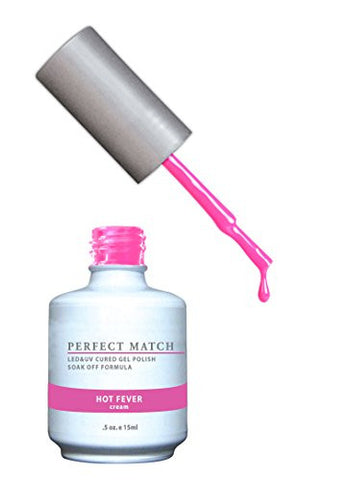 Lechat Perfect Match Nail Polish, Hot Fever, 0.500 Ounce