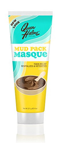 Queen Helene Mud Pack Masque, 8 Ounce Tube (Pack Of 6)