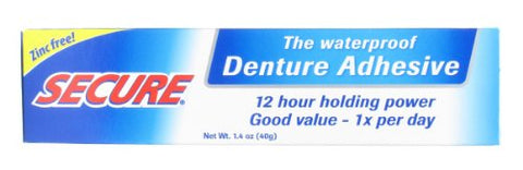 Bioforce Usa Secure Denture Bonding Cream