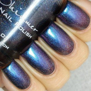 Rollin' With The Chromies Linear Holographic Nail Polish  0.5 Oz Full Sized Bottle
