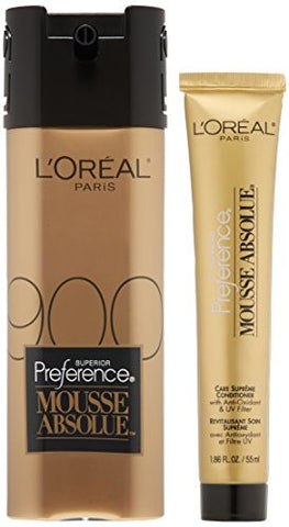 L'oreal Paris Superior Preference Mousse Absolue, 900 Pure Light Blonde