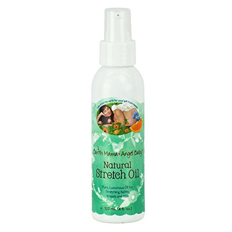 Belly Oil By Earth Mama | To Safely Moisturize And Promote Skin's Natural Elasticity During Pregnanc