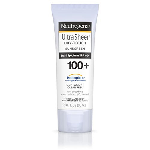 Neutrogena Ultra Sheer Dry Touch Sunscreen Broad Spectrum Spf 100, 3 Fl. Oz