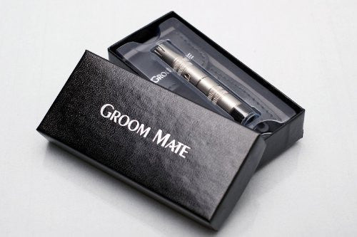 Groom Mate Platinum Xl Plus   Nose Hair Trimmer  W/Leather Pouch & Brush   Lifetime Warranty   Made