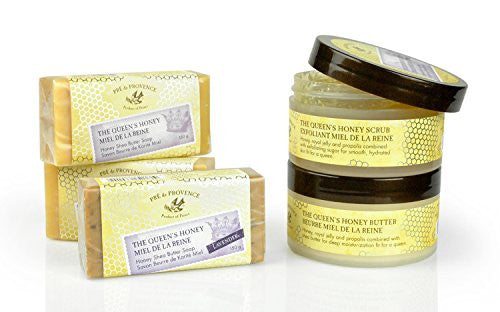 Pre De Provence Queen's Honey Shea Butter Enriched, Soothing, Moisturizing Cream   Original Honey