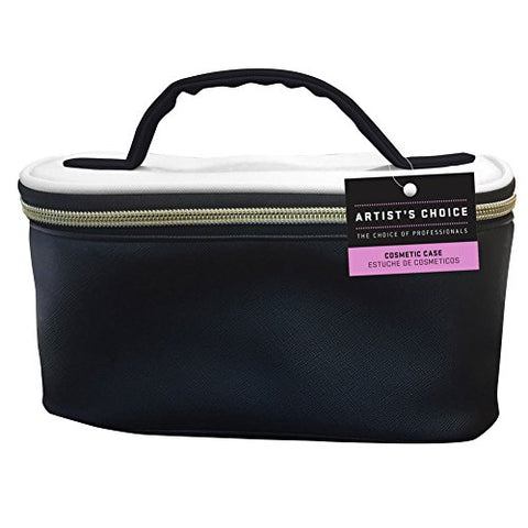 b7b30b1bfd49 Artists Choice Cosmetic Bag Case Black And White