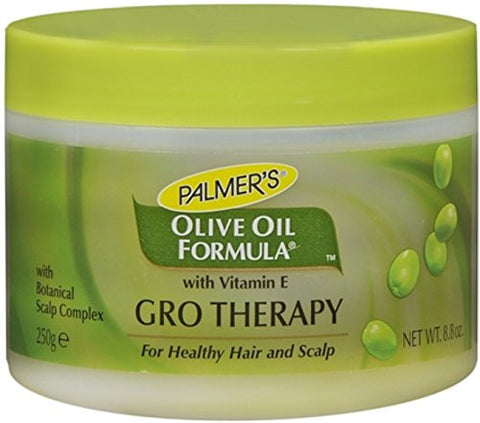 Palmers Olive Oil Formula Gro Therapy Balm With Extra Virgin   8.8 Oz Jar ( Pack Of 3 )