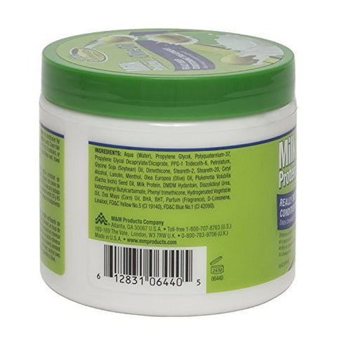 Milk Protein & Olive Oil Hair Deep Conditioning Treatment Hair Mask Strengthens, Repairs, Stops Brea