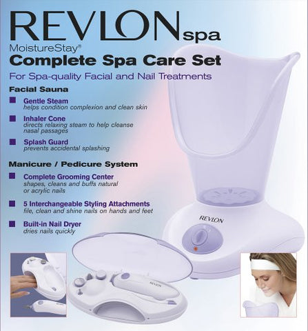 Revlon Rvs1223 Pk1 Moisture Stay, Nail/Facial Kit, White