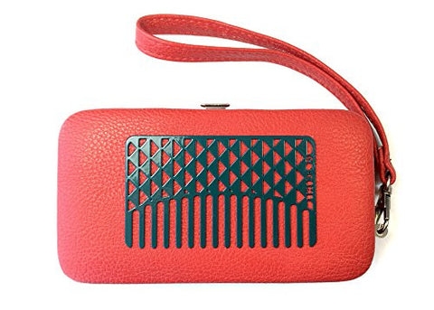 Go Comb   Wallet Sized Hair & Travel Comb   Wide Tooth   Turquoise Facets