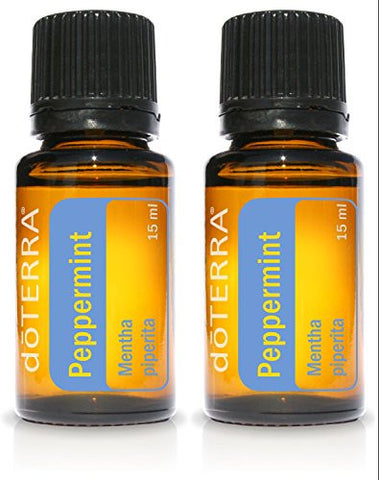 Do Terra Peppermint Essential Oil 15 Ml By Do Terra, 2 Pack