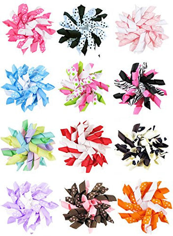 Girls' Accessories Strict 40pcs Baby Hair Clips Girls Kids Flowers Hair Clip Bow Hairpin Alligator Clips Delicacies Loved By All