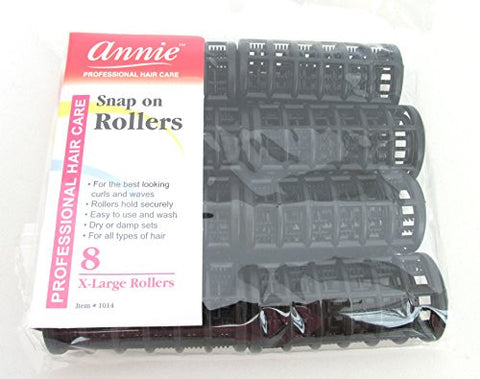 Annie Snap On Rollers 1 1/8