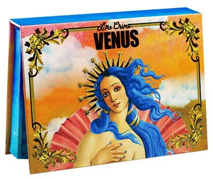Lime Crime Venus Eyeshadow Palette   8 Full Sized Matte And Metallic Eyeshadows   Grunge Inspired Sh