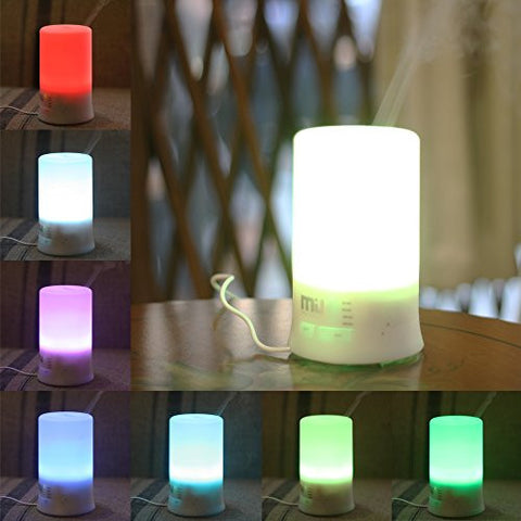 Essential Oils Diffuser, Miu Color 100ml Aromatherapy Diffuser 7 Color Changing Aroma Diffuser, Larg