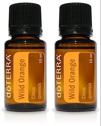 Do Terra Wild Orange Essential Oil 15 Ml By Do Terra,Pack Of 2